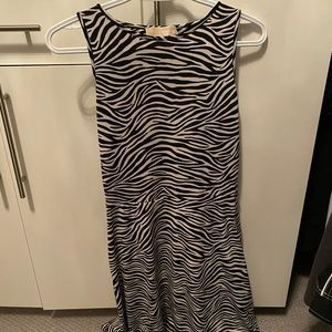 Zebra Michael kors dress
